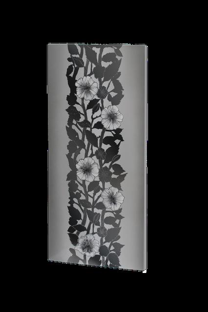 Металлокерамический дизайнерский обогреватель UDEN-S 700 Вт Серебряные нити