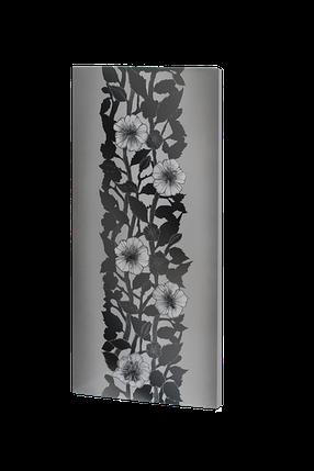 Металлокерамический дизайнерский обогреватель UDEN-S 700 Вт Серебряные нити, фото 2