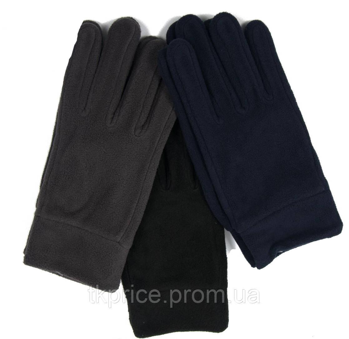 Мужские флисовые перчатки