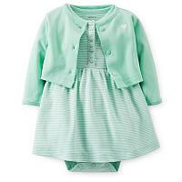 Платье с болеро  Carters девочка (121c642)