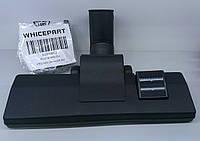 Щетка для пылесоса универсальная ковровая диаметром 35 мм (с колесами), фото 1