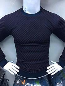 Стильная мужская кофта Батал
