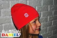 Весенние шапки для девочек. 100% хлопок.