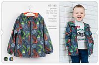 Весенняя куртка для мальчика КТ145