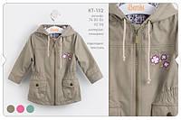 Куртка для девочки КТ152