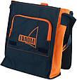 Наплічна сумка Traum синій з помаранчевим, фото 2