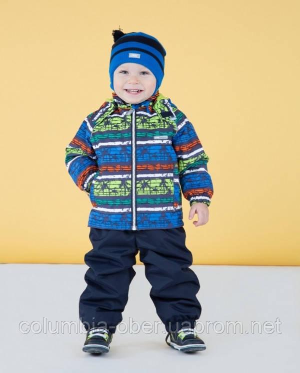Демисезонный утепленный костюм для мальчика Lenne RALLY, цвет 6010. Размер 86.