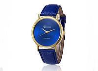 Женские часы синего цвета Geneva (194)