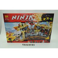 """Конструктор Bela Ninja (Ниндзя) 10530 (аналог Lego Ninjago 70596) """"Хаос в X-пещере Самураев"""" 1310 дет"""