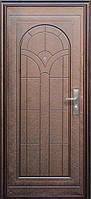 Китайские входные металлические  двери эконом класса: Полуарка