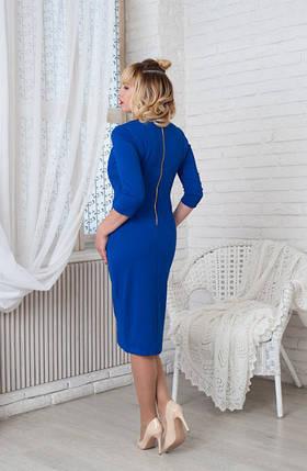 Платье Жаклин 0198_5 электрик, фото 2