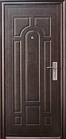 Китайские входные металлические двери эконом класса: Рубленая арка