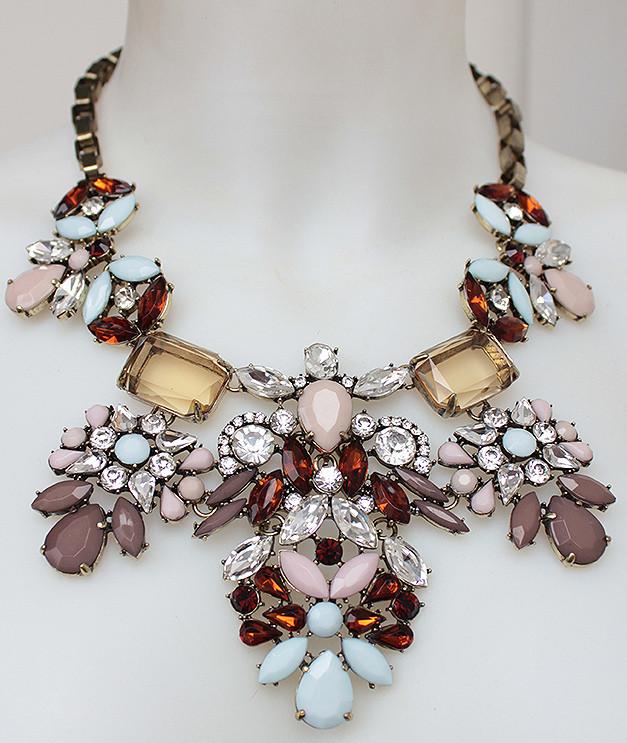 Модне яскраве кольє DRESS 5116