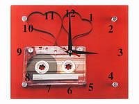 Часы настенные винтаж Любовь под музыку