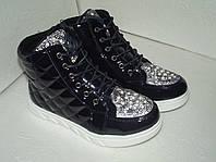 Лаковые ботинки для девочки, 22, 5 см стелька