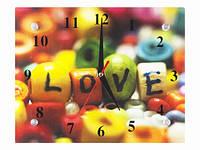 Часы настенные декоративные Яркая Любовь
