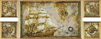 """Набор для вышивания нитками """"Морское путешествие"""" СВ6584"""