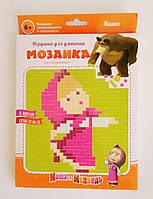 """Детская мозаика серия """"Маша и медведь"""", сетка 32х32 см"""