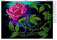 """Схема для вышивки бисером """"Роза"""""""