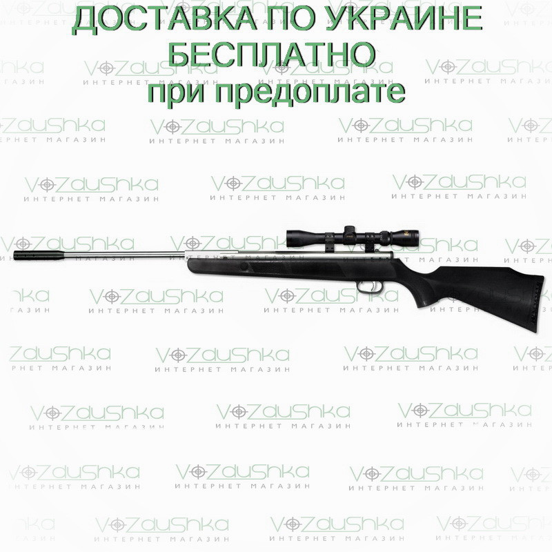 Пневматическая винтовка Beeman Silver Kodiak X2 с прицелом 4х32 + чехол, фото 1