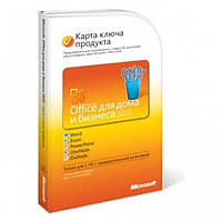 Microsoft Office 2010 Для дома и бизнеса Украинский x32/x64 Attach Key (T5D-00322) поврежденная упаковка