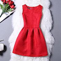 Красное коктейльное / вечернее платье