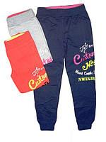 Трикотажные спортивные брюки для девочек, Grace, размеры 116, 122, 128, 140,146, арт. G60393