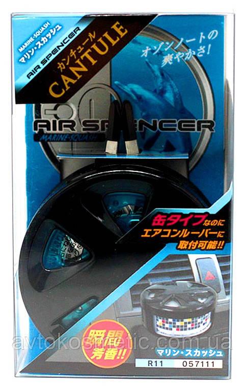 Eikosha Меловой ароматизатор с холдером Air Spencer Cantule Marine Squash
