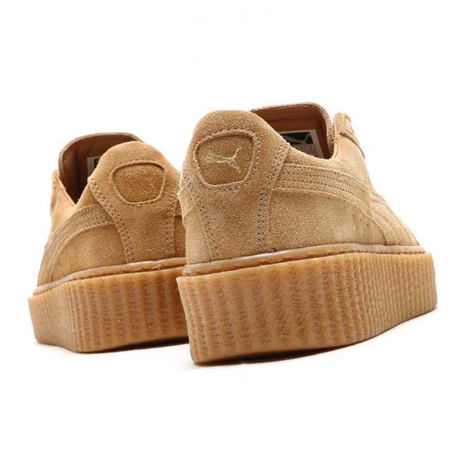 Кроссовки от Rihanna - Suede Creeper на фото