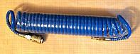 Шланг спиральный полиуретановый для компрессора