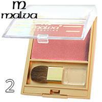 Malva - Румяна компактные M-473 Silk Touch Blusher Тон 02 tender pink