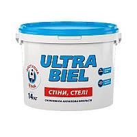 Краска интерьерная акриловая СНЕЖКА Ultra Biel (водоэмульсионная) (14 кг)