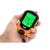Портативная метеостанция Sunroad FR500 (7 в 1): альтиметр, барометр, компас, гигрометр, термометр, часы