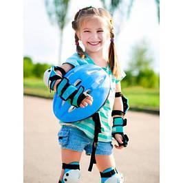Защита для катания на роликах, скейбордах, самокатах и велосипедах.