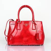 Женская сумка Prada Saffino Lux Red