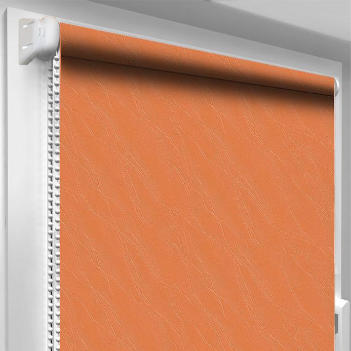 Рулонная штора DecoSharm Вода 1844 Оранжевая