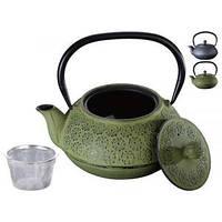Заварочный чугунный чайник на 900 мл
