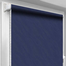 Рулонная штора DecoSharm Вода 2090 Синяя