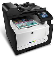 Заправка картриджей цветных лазерных принтеров HP в Киеве.