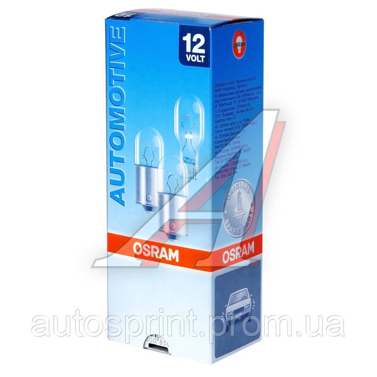 """Лампа """"OSRAM"""" безцокол. габариты,стоп 12V W21/5W (7515)"""