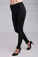 Классические женские лосины черного цвета