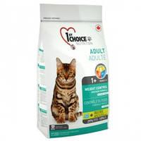 1st Choice Weight Control (Light) 5.44 кг Сухой корм для кошек контроль веса