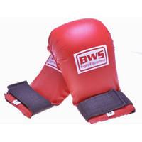 Накладки для карате BWS 4009 (р.S, красный)