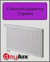 Стальной радиатор Daylux 600х700 11 типа нижнее подключение
