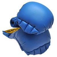 Накладки для карате BWS 4008 (р.M, синий)