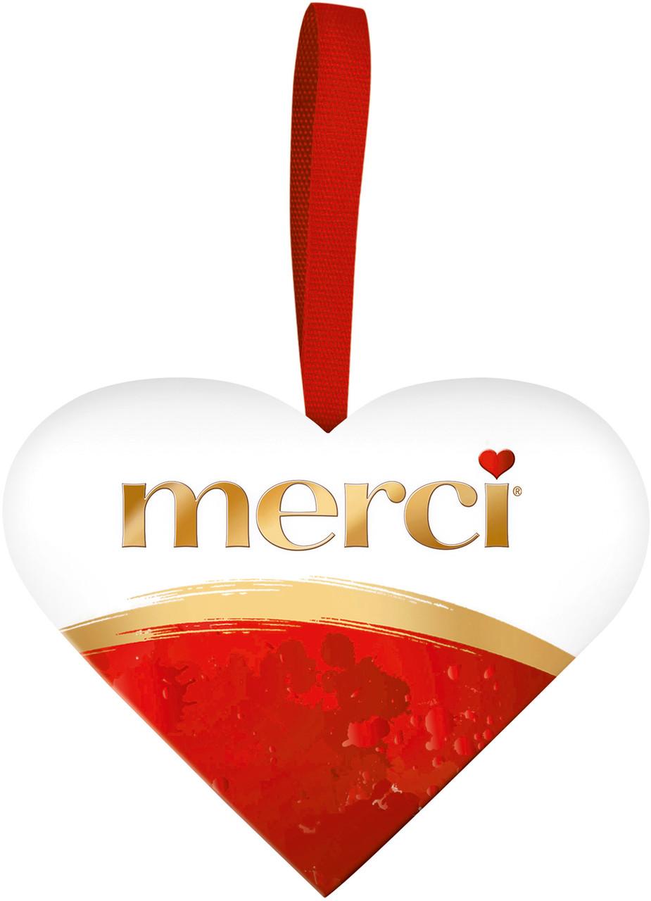 Шоколадные конфеты Merci Storck сердце, 36 гр.