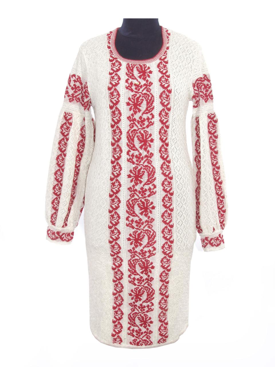 Плаття жіноче в язане Львів янка червона  продажа 15acf52e56de9