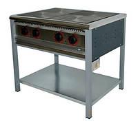 Плита промышленная электрическая без духовки Арм-Эко ПЕ-4Ч Економ
