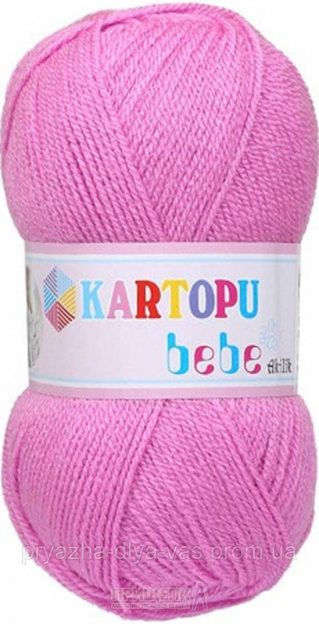 Детская пряжа(100%-акрил, 50г/150м) Kartopu Bebe 807
