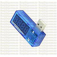 Цифровой USB тестер амперметр вольтме (вольтметр, амперметр) 3,5 - 7V, 3А напруги визначник току